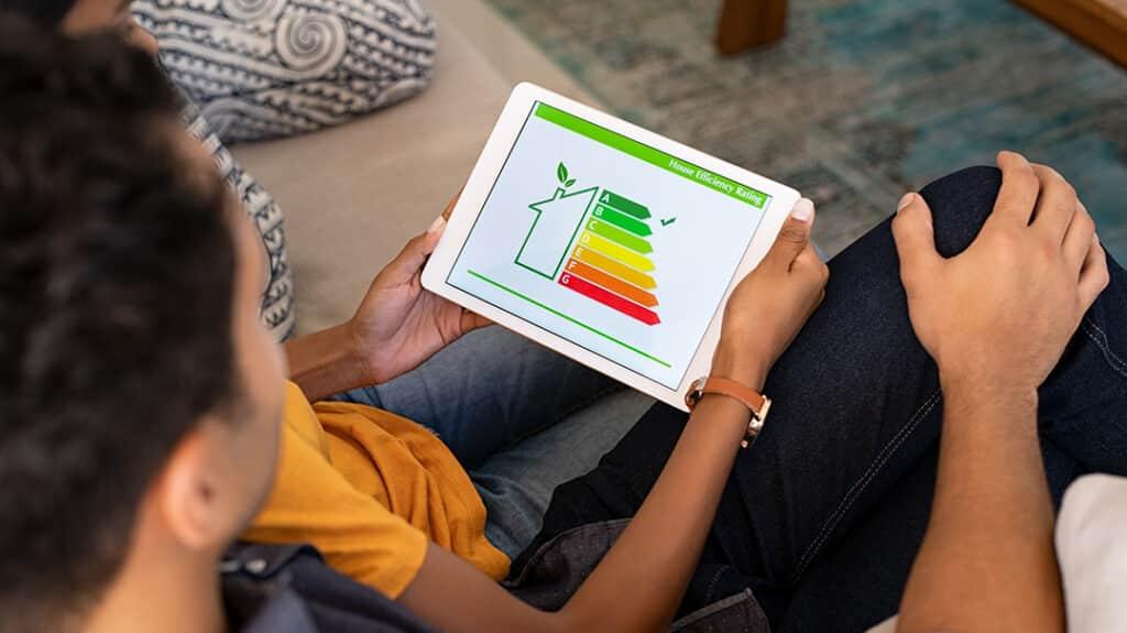 Energy consumption levels